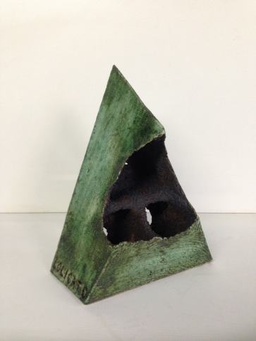 The Inside. Glazed Ceramic. 32X18X12cms $550